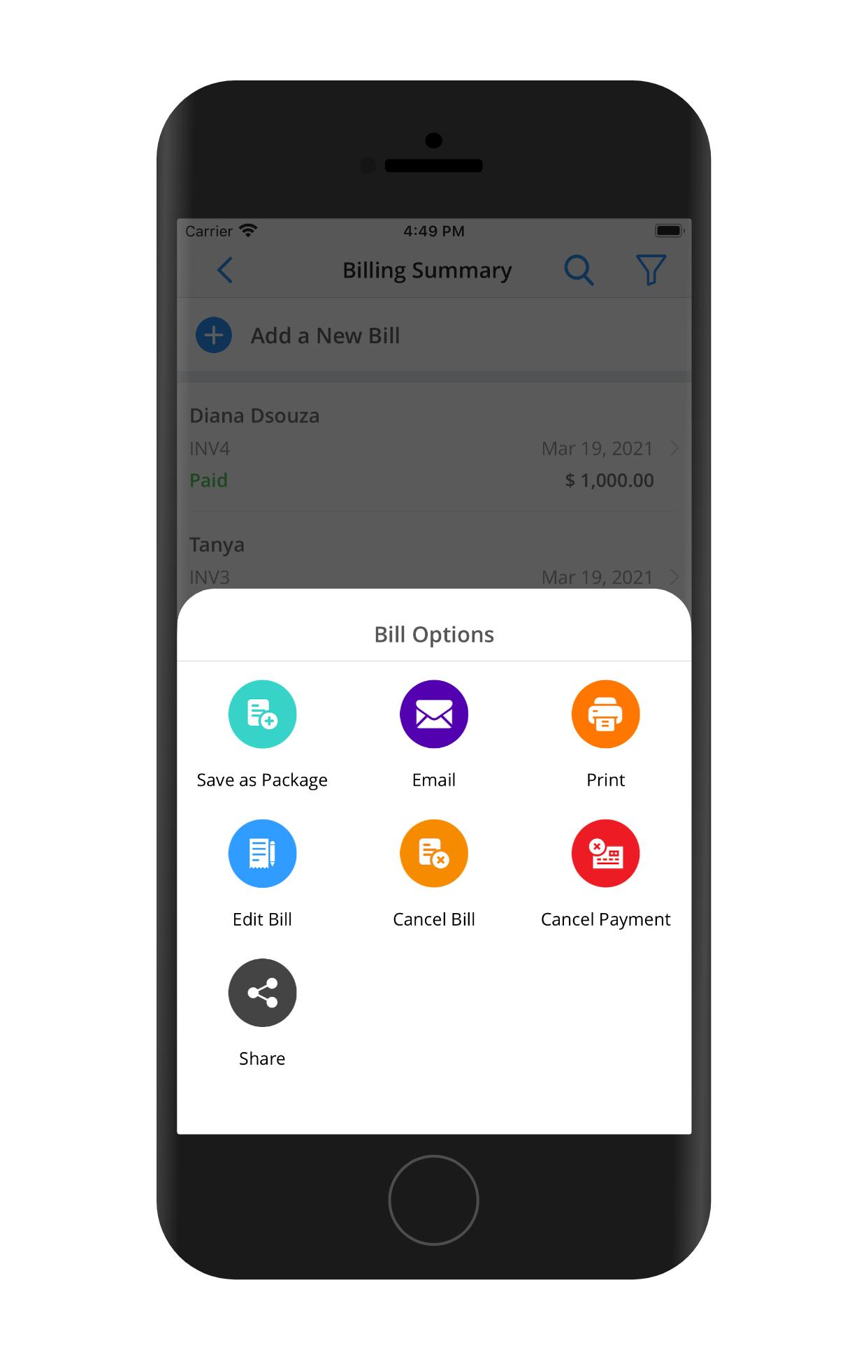 CureCast Medical Billing App